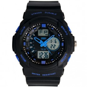 SKMEI Jam Tangan Analog Digital Pria - AD0955 - Blue