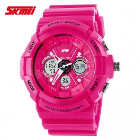 SKMEI S-Shock Sport Watch Water Resistant 50m - AD0966 - Pink