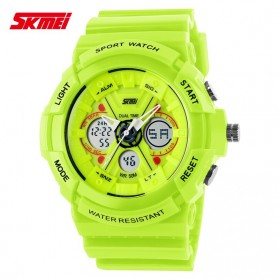 SKMEI Jam Tangan Analog Digital Pria - AD0966 - Green