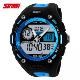 SKMEI Jam Tangan Analog Digital Pria - AD1015 - Blue