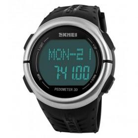 SKMEI Jam Tangan Olahraga Pedometer Heart Rate - DG1058HR - Black