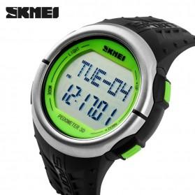 SKMEI Jam Tangan Olahraga Pedometer Heart Rate - DG1058HR - Black/Green - 3