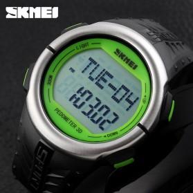 SKMEI Jam Tangan Olahraga Pedometer Heart Rate - DG1058HR - Black/Green - 5