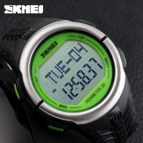 SKMEI Jam Tangan Olahraga Pedometer Heart Rate - DG1058HR - Black/Green - 6