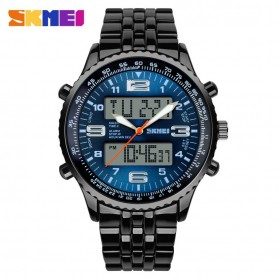 SKMEI Jam Tangan Analog Digital Pria - AD1032 - Black/Blue