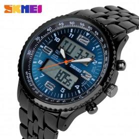 SKMEI Jam Tangan Analog Digital Pria - AD1032 - Black/Blue - 3