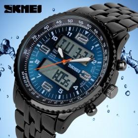 SKMEI Jam Tangan Analog Digital Pria - AD1032 - Black/Blue - 4