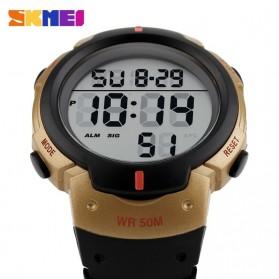 SKMEI Jam Tangan Digital Pria - DG1068 - Black Gold - 3