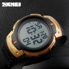 SKMEI Jam Tangan Digital Pria - DG1068 - Black Gold - 4