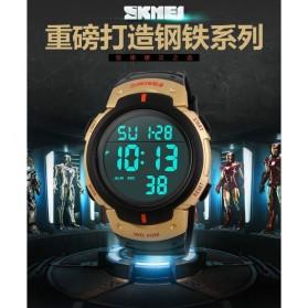 SKMEI Jam Tangan Digital Pria - DG1068 - Black Gold - 5