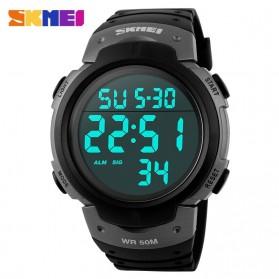 SKMEI Jam Tangan Digital Pria - DG1068 - Black/Silver - 2