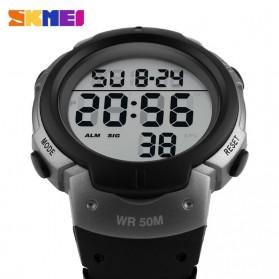 SKMEI Jam Tangan Digital Pria - DG1068 - Black/Silver - 3