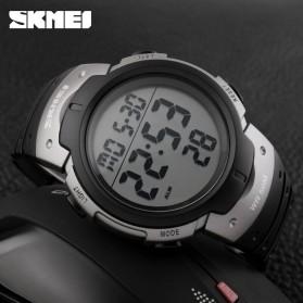 SKMEI Jam Tangan Digital Pria - DG1068 - Black/Silver - 5
