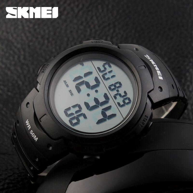 ... SKMEI Jam Tangan Digital Pria - DG1068 - Black - 4 ...