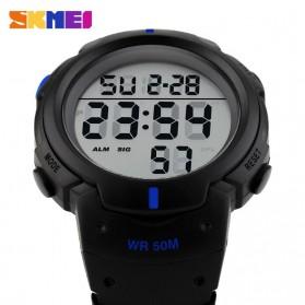 SKMEI Jam Tangan Digital Pria - DG1068 - Blue - 4
