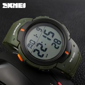 SKMEI Jam Tangan Digital Pria - DG1068 - Army Green - 3