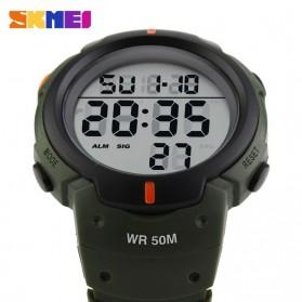 SKMEI Jam Tangan Digital Pria - DG1068 - Army Green - 4