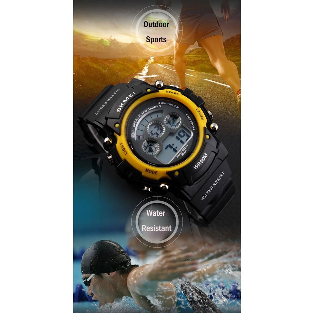 Skmei Men Sport Analog Led Watch Water Resistant 50m Ad1121 Daftar Jam Tangan Pria Casio Ad1109 Source