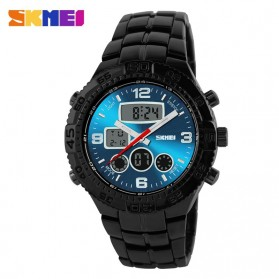 SKMEI Jam Tangan Analog Digital Pria - AD1030 - Black/Blue