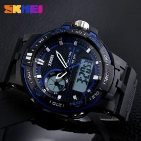 SKMEI Jam Tangan Digital Analog Pria - AD1070 - Blue - 8