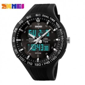 SKMEI Jam Tangan Analog Digital Pria - AD1066 - White