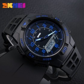 SKMEI Jam Tangan Sporty Pria - AD1065 - Blue - 5