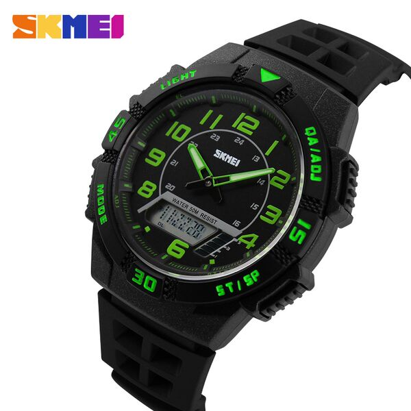 ... SKMEI Jam Tangan Sporty Pria - AD1065 - Green - 2 ...