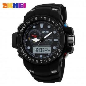 SKMEI Casio Men Sport LED Watch Water Resistant 50m - AD1063 - Black