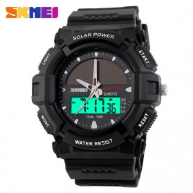 SKMEI Jam Tangan Analog Digital Pria - AD1050E - Black