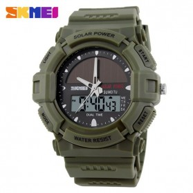 SKMEI Jam Tangan Analog Digital Pria - AD1050E - Army Green