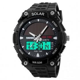 SKMEI Jam Tangan Solar Digital Analog Pria - AD1049E - Black - 2
