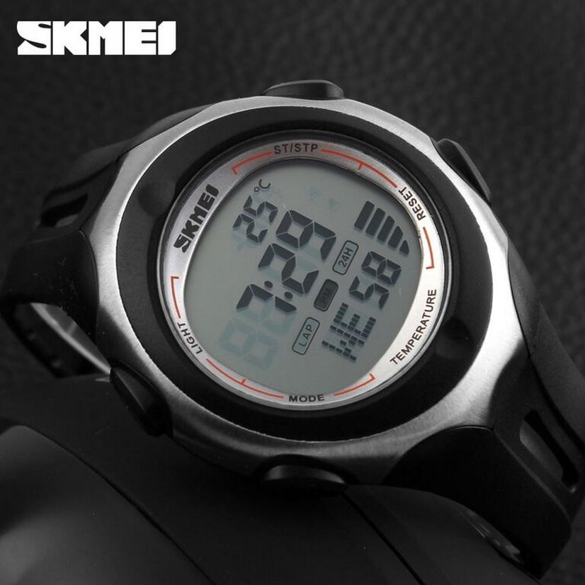... SKMEI Pioneer Jam Tangan Digital Pria - DG1080T - Black White - 4 ... e3cf3b0a55