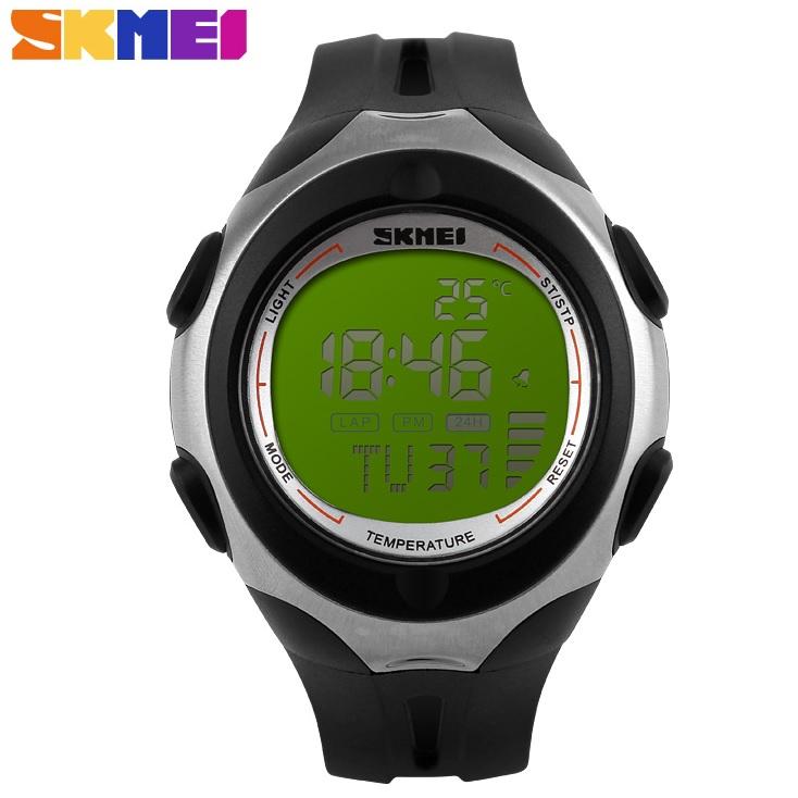 ... SKMEI Pioneer Jam Tangan Digital Pria - DG1080T - Black Green - 1 ... 782639e9f8