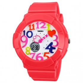 SKMEI Jam Tangan Analog Digital Wanita - AD1020 - Red
