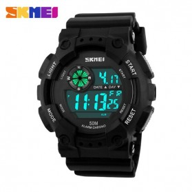 SKMEI Jam Tangan Digital Pria - DG1101 - Black White