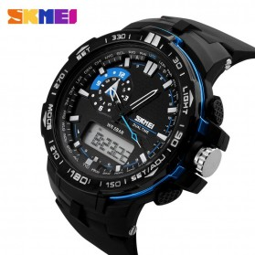 SKMEI Jam Tangan Sport Pria - AD1081 - Black/Blue - 2