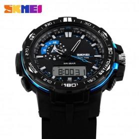 SKMEI Jam Tangan Sport Pria - AD1081 - Black/Blue - 3