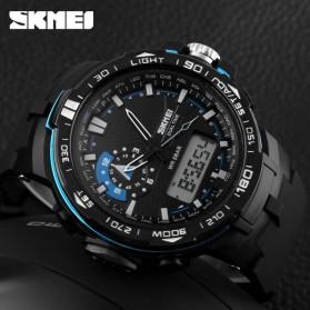 SKMEI Jam Tangan Sport Pria - AD1081 - Black/Blue - 4