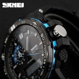 SKMEI Jam Tangan Sport Pria - AD1081 - Black/Blue - 6