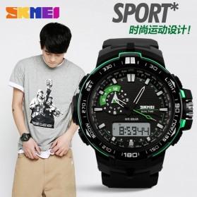 SKMEI Jam Tangan Sport Pria - AD1081 - Black/Blue - 8