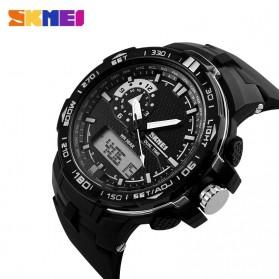 SKMEI Jam Tangan Sport Pria - AD1081 - Black White - 3