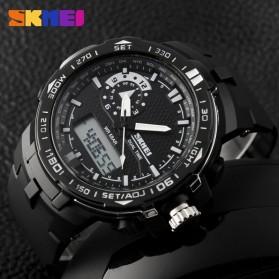 SKMEI Jam Tangan Sport Pria - AD1081 - Black White - 5