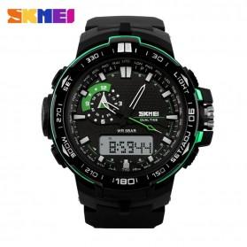 SKMEI Jam Tangan Sport Pria - AD1081 - Black/Green