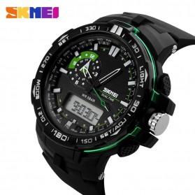 SKMEI Jam Tangan Sport Pria - AD1081 - Black/Green - 2