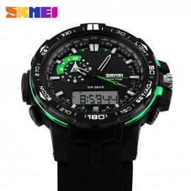 SKMEI Jam Tangan Sport Pria - AD1081 - Black/Green - 3