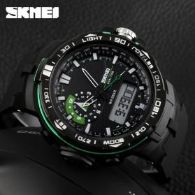 SKMEI Jam Tangan Sport Pria - AD1081 - Black/Green - 4