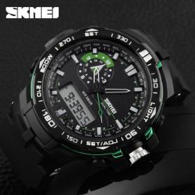 SKMEI Jam Tangan Sport Pria - AD1081 - Black/Green - 5