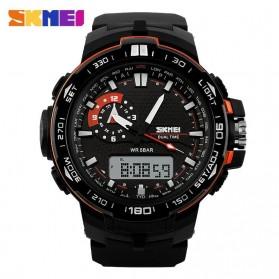 SKMEI Jam Tangan Sport Pria - AD1081 - Black/Orange