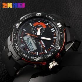 SKMEI Jam Tangan Sport Pria - AD1081 - Black/Orange - 5