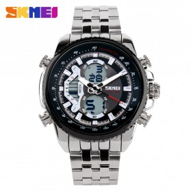 SKMEI Jam Tangan Analog Digital Pria - AD0993 - Black